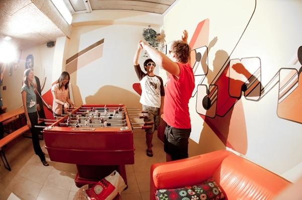 hostel parties