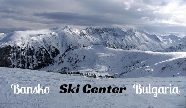 Bansko ski, Bulgaria