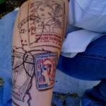 travel tattoo 7