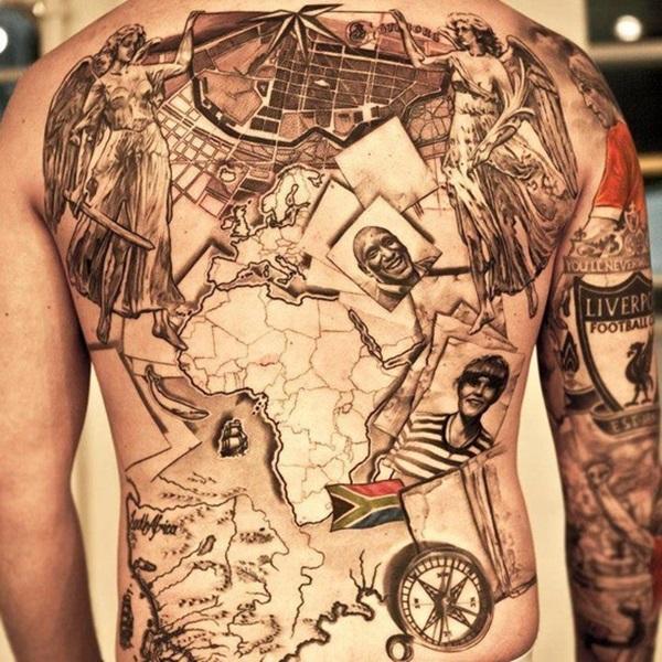 35 travel tattoo ideas adventure flairadventure flair. Black Bedroom Furniture Sets. Home Design Ideas
