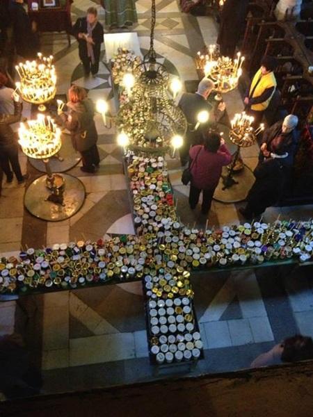 Fiery Honey Jars - The Feast of St. Haralambos