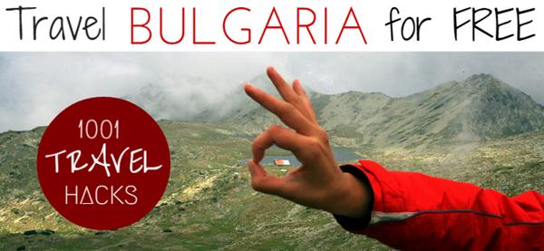 Travel Bulgaria for FREE