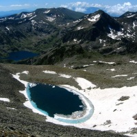 The upper Polezhansko lake