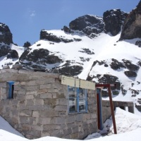 Mountain shelter in Buglaria