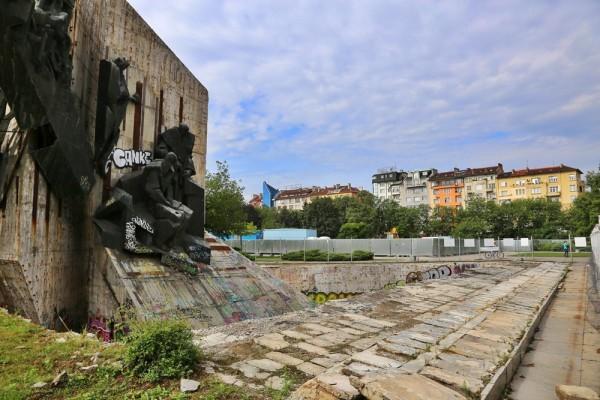 Monument in Sofia